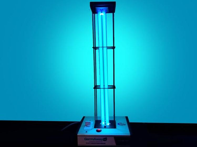 Deluxe LightRay UV 95 Watt UVC Surface Sanitizer with Cage